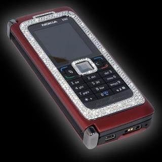 Diamond Studded Nokia E90 Cellphone