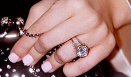 Christina Aguilera Diamond Ring