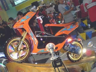 yamaha mio sporty 2009 model bandung  motorcycles design