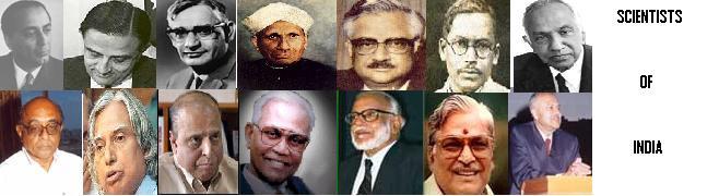 SCIENTISTS OF INDIA