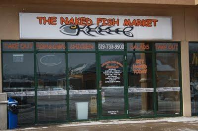 The naked fish market apologise