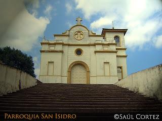 Parroquia San Isidro Labrador. Foto: Saúl Cortez