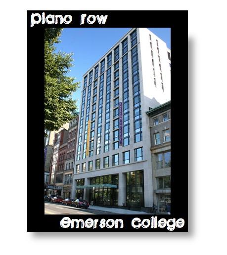Piano Row Emerson College