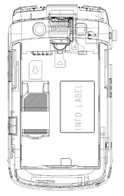 BlackberryVzla: Diagrama del Blackberry Bold 9700