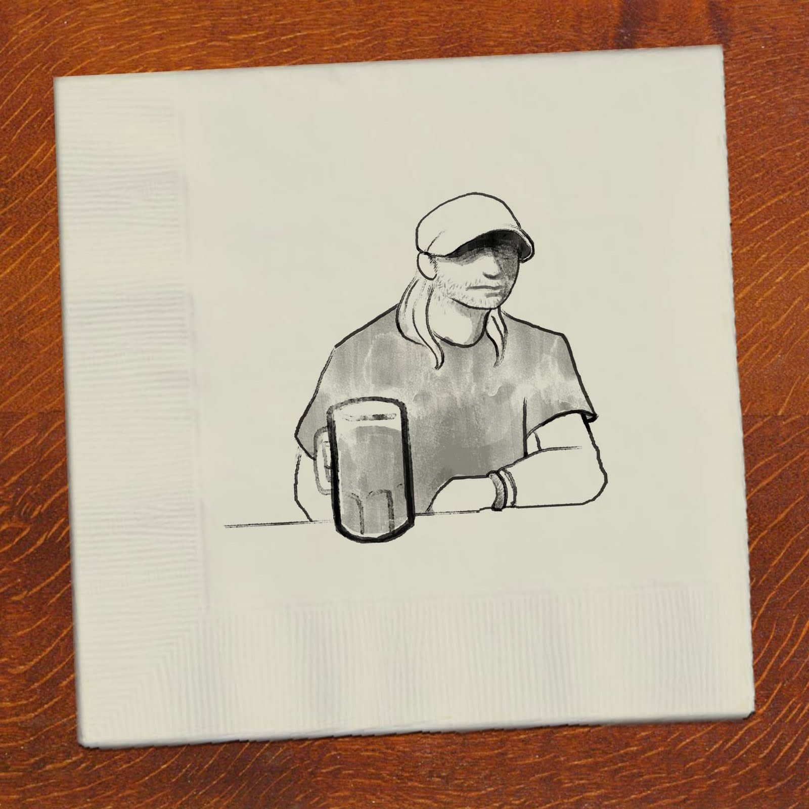 Bar napkin sketch