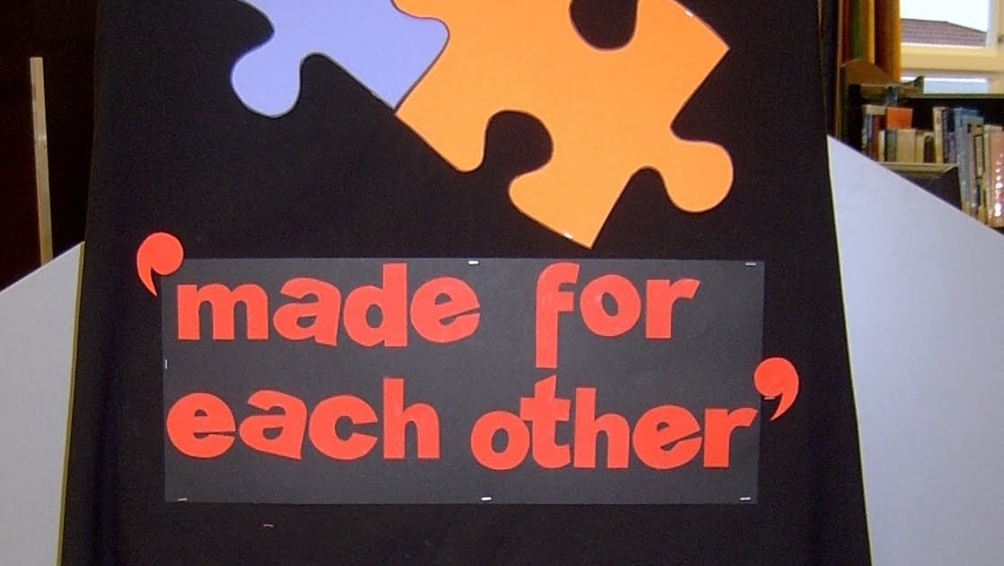 Made For Each Other: Library Displays: Made For Each Other