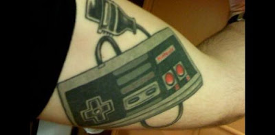 08 Cool Video Game Tattoos