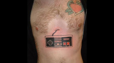 10 Cool Video Game Tattoos
