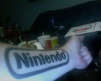 01 Cool Video Game Tattoos