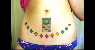 03 Cool Video Game Tattoos