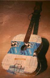 La guitarra de cartón