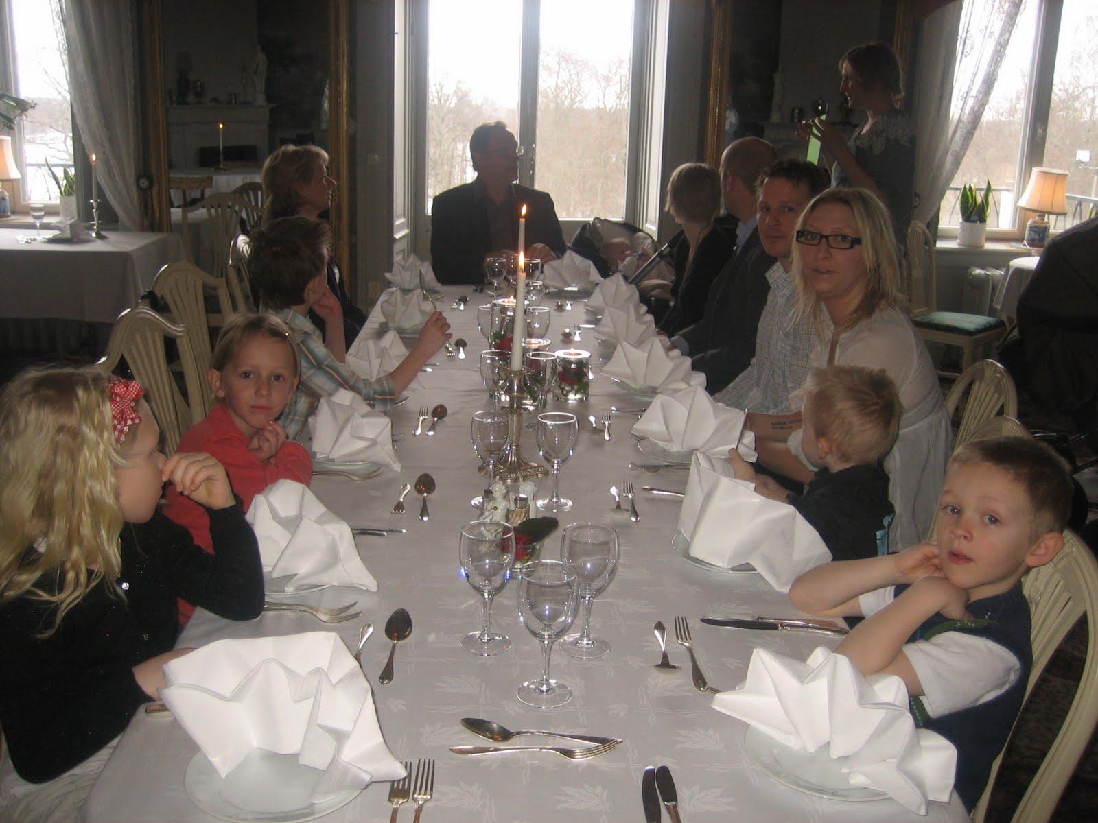 40 års middag mitt vita staket: 40 års fest och 60 års middag 40 års middag