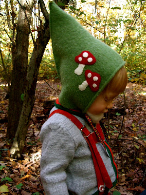Acorn Pies  How to Make a Gnome Hat For a Young Child 1677ea74320