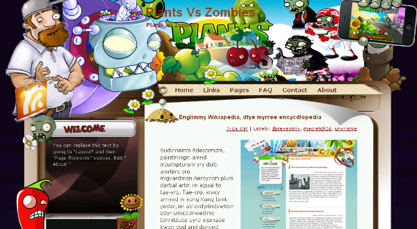Best Games Blogger Templates