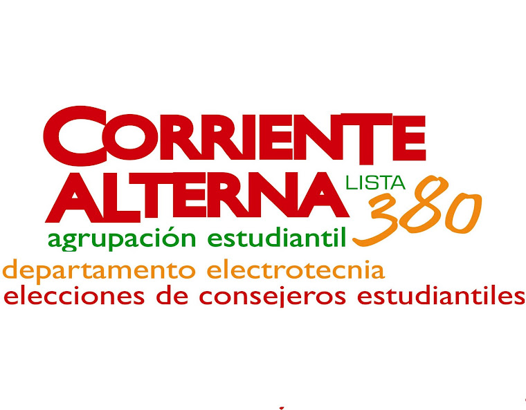 Corriente Alterna Lista 380
