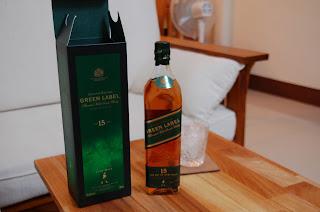 水城記事館: 約翰走路綠牌15年 Johnnie Walker Green Label [飲酒過量,有礙健康]