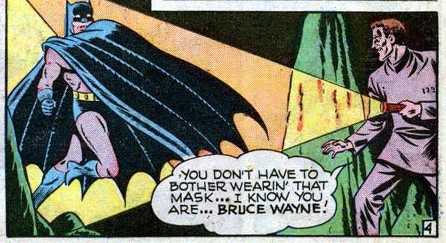 Nothing But Batman: Batman's Secret Identity
