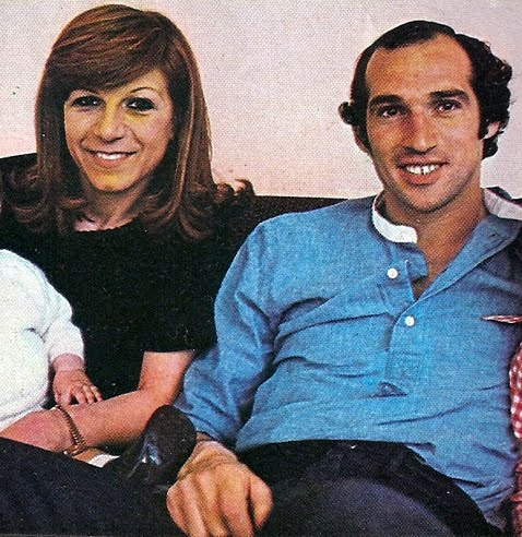 WAGs RETRO. Carlos Bianchi et Nicoletta.