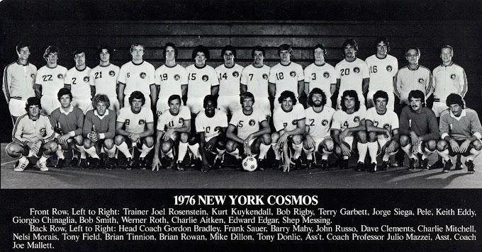 NEW-YORK COSMOS 1976.