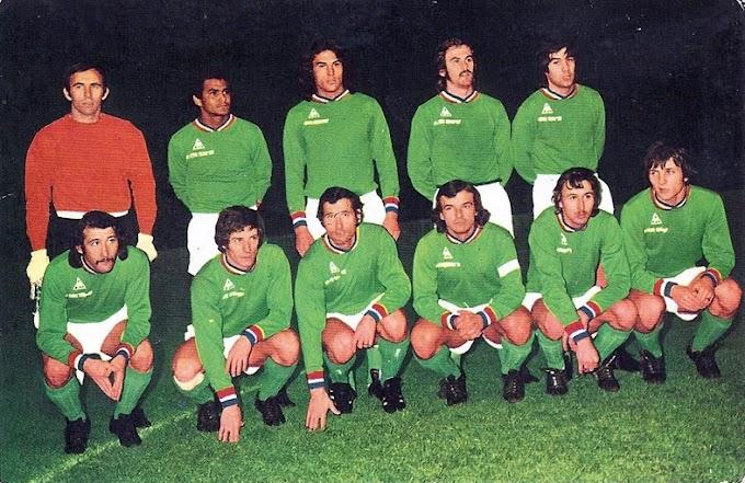 A.S SAINT-ETIENNE 1974-75.