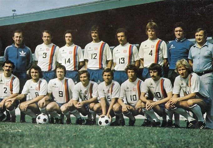 OLYMPIQUE LYONNAIS 1975-76.