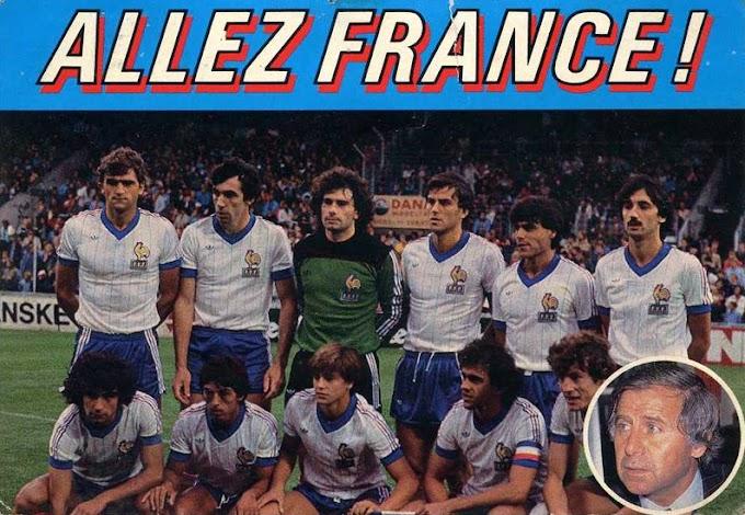 Danemark-FRANCE 1983.