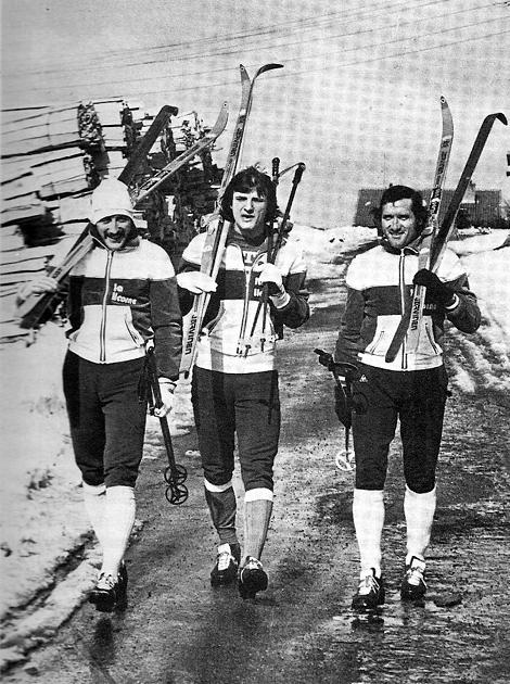 BATHENAY et les REVELLI. Les bronzés font su ski.