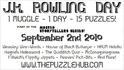 The Puzzle Hub: Crossword; Hogwarts Crossword #3!