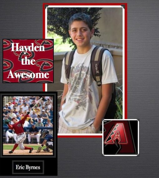 Hayden                                                 THe AwEsOmE