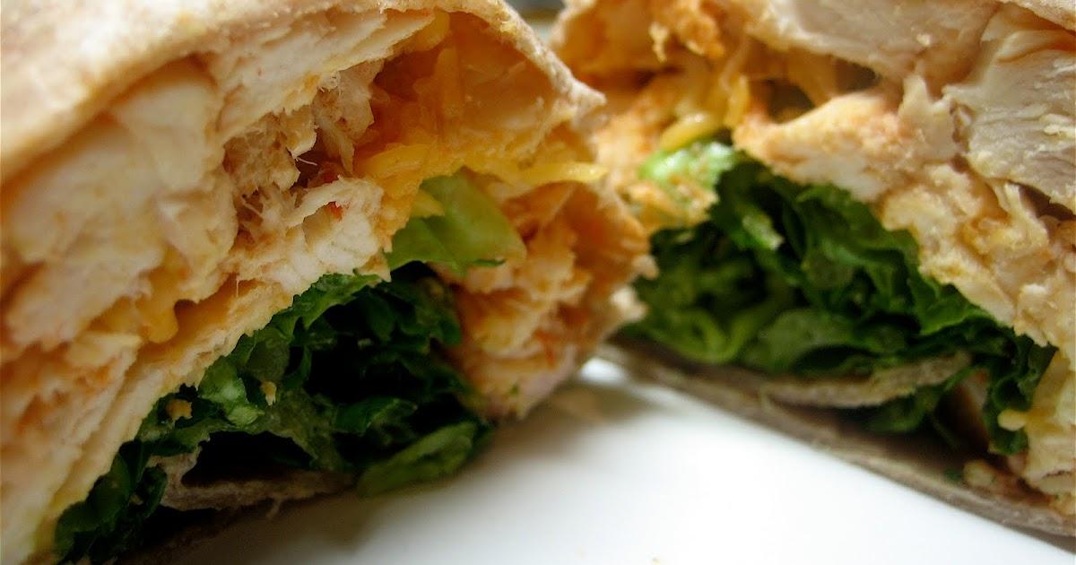 Whole Foods Buffalo Chicken Wrap