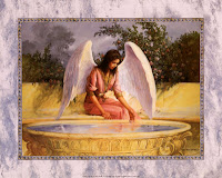 Angel and the Fountain