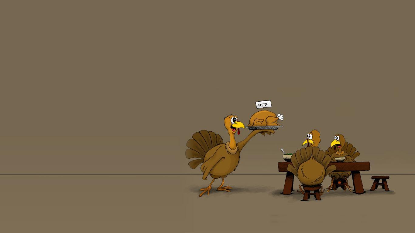 Popeye Africa: Funny Thanksgiving Wallpaper