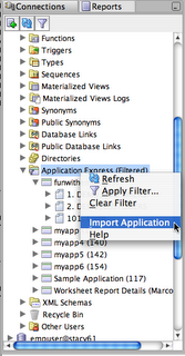 import apex application