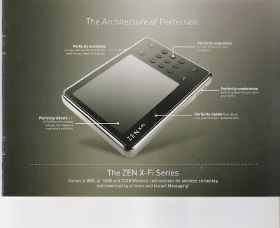 Creative ZEN X-Fi Brochure: Why You Should Buy It