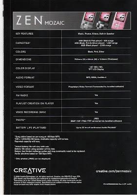 Zen Mozaic Brochure