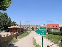 "En la Ruta "" Camino de Cid""."