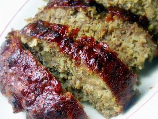 recettes  Meatloaf, pain de viande   au four ou au barbecue