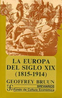 La Europa del siglo XIX (1815-1914) – Geoffrey Bruun