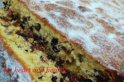 Fruit Cake Bars Recipe
