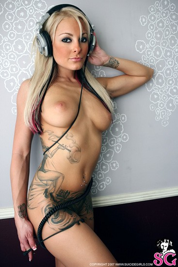 Sexy Naked Tattoo Women 11