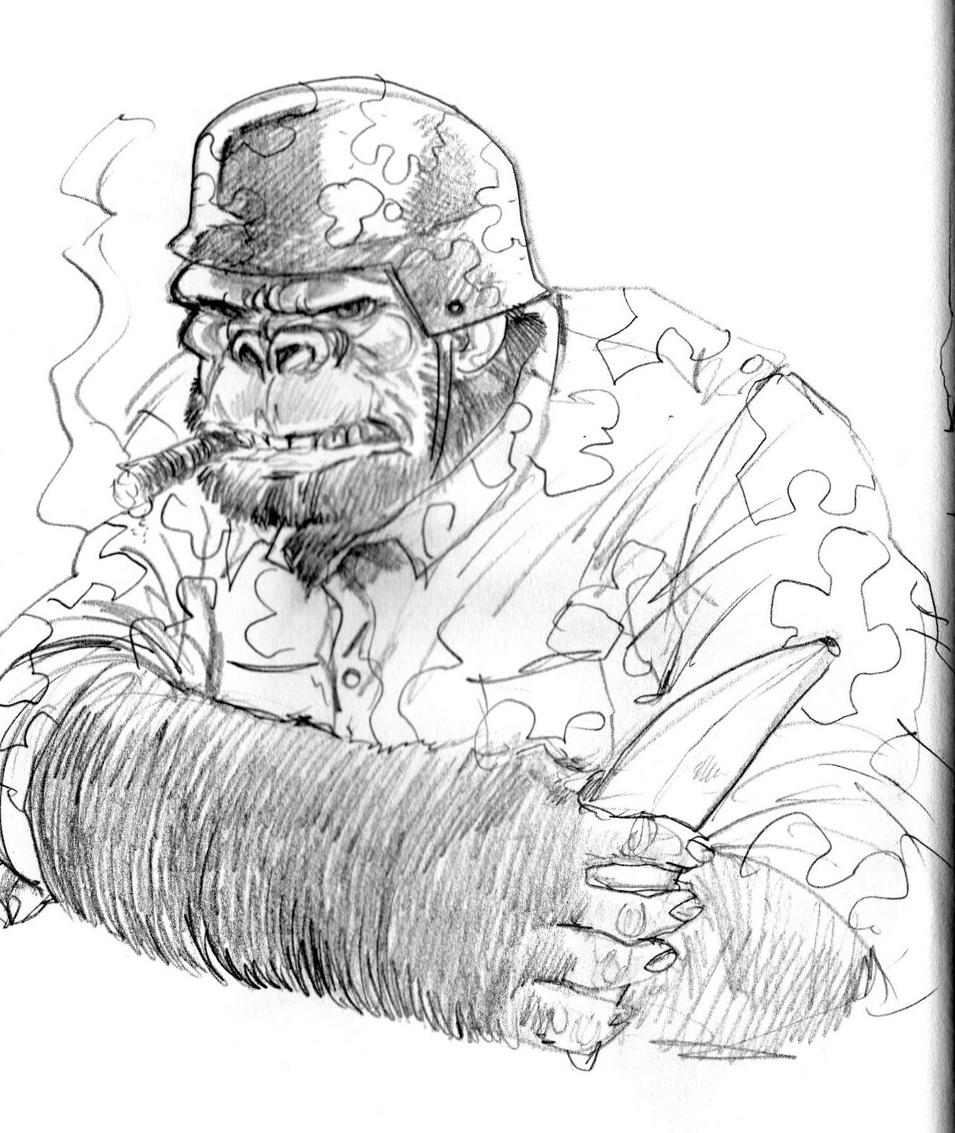 George O'Connor's Online Sketchbook: December 2010