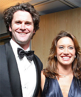 Chris Cairns and wife Carin