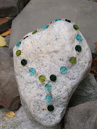 Forest 3 Coins in the Fountain Necklace