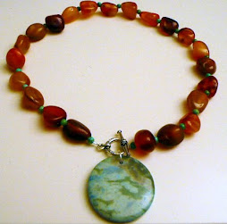 Carnelian, Turquoise and Jasper Necklace