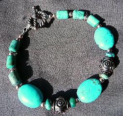 Turquoise Patina bracelet