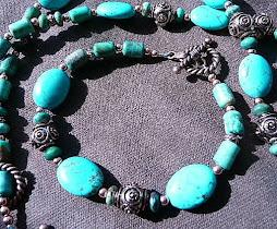 Turquoise Patina Set