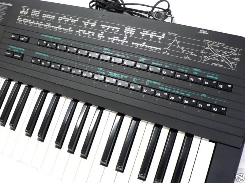 MATRIXSYNTH: YAMAHA DX7 IID FM Synthesizer