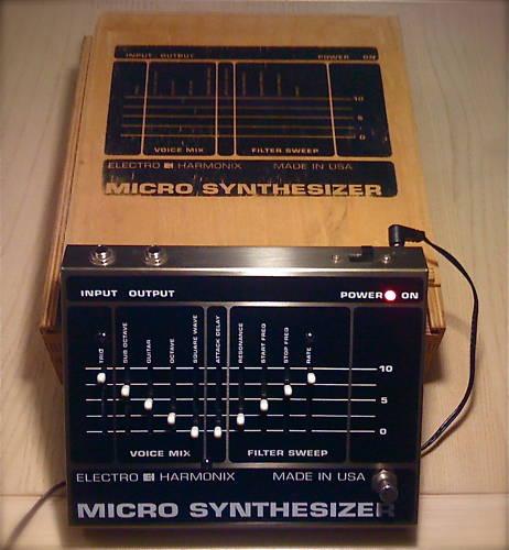 matrixsynth electro harmonix guitar micro synth. Black Bedroom Furniture Sets. Home Design Ideas