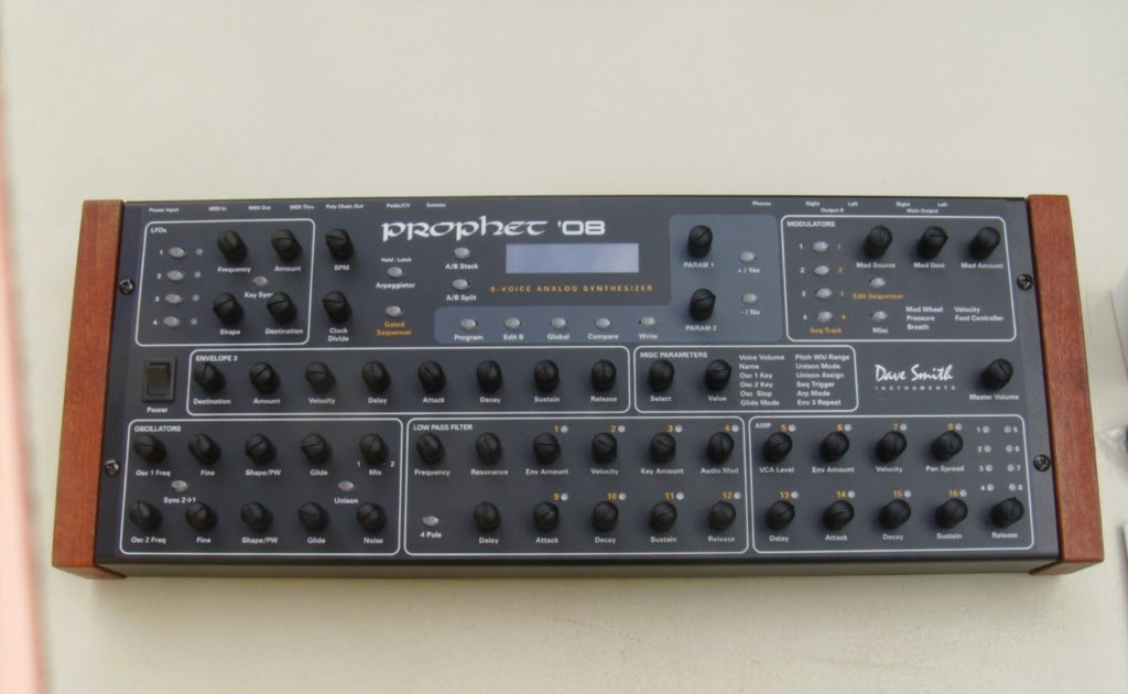 matrixsynth b dave smith instruments prophet 39 08 synth module. Black Bedroom Furniture Sets. Home Design Ideas