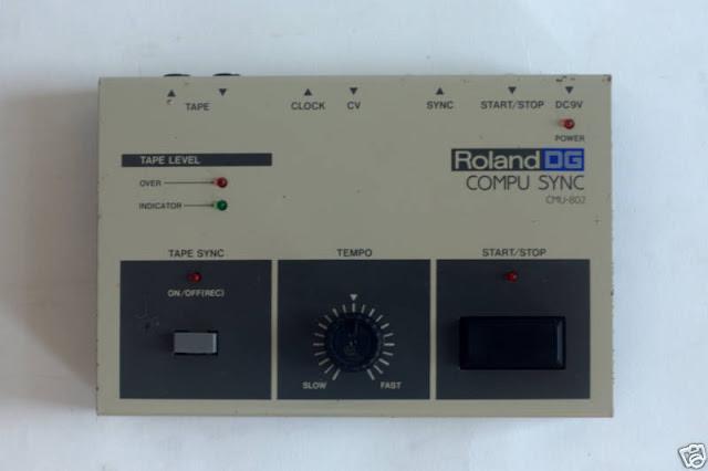 MATRIXSYNTH: RARE ROLAND DG CMU-802 COMPU SYNC
